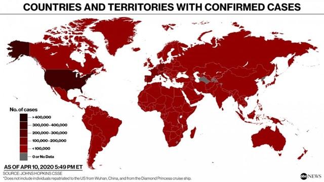 Hơn 100.000 người chết vì Covid-19 trên toàn thế giới - 2