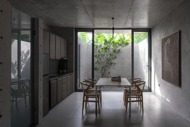 """Ngôi nhà """"lạ"""" với kiến trúc tối giản, nổi bật tại ngoại ô Hà Nội - 9"""