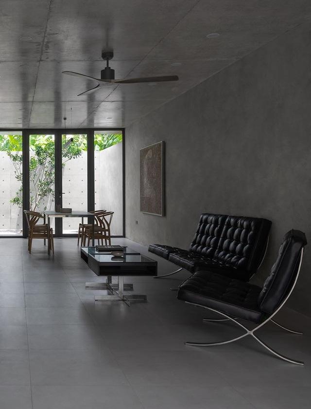 """Ngôi nhà """"lạ"""" với kiến trúc tối giản, nổi bật tại ngoại ô Hà Nội - 8"""