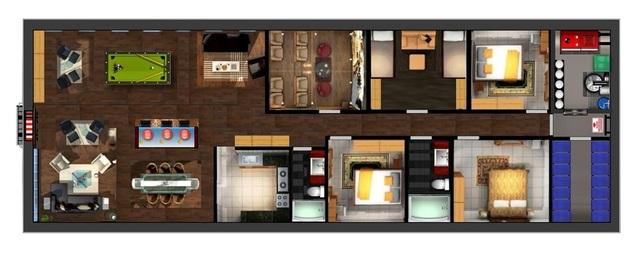 Hầm trú ẩn tránh Covid-19 đẹp như khách sạn hạng sang ở Mỹ - 3