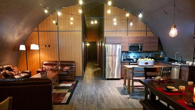 Hầm trú ẩn tránh Covid-19 đẹp như khách sạn hạng sang ở Mỹ - 4
