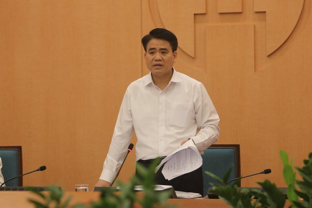 Chủ tịch Hà Nội: Rà soát Bạch Mai mới ra bệnh nhân 243, ra ổ dịch Hạ Lôi - 1