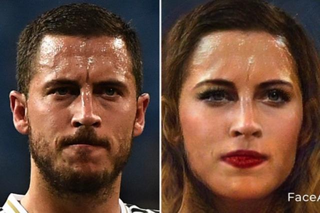 Bất ngờ với nhan sắc xinh đẹp của C.Ronaldo, Messi khi… chuyển giới - 12