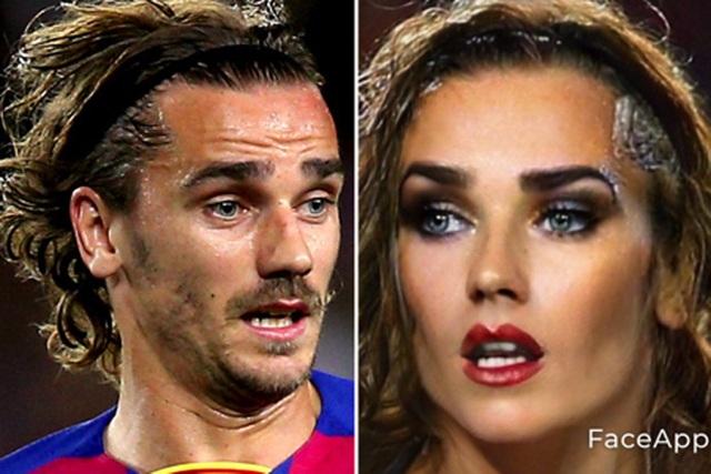 Bất ngờ với nhan sắc xinh đẹp của C.Ronaldo, Messi khi… chuyển giới - 13