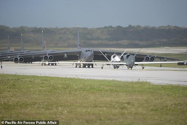 """""""Pháo đài bay"""" B-52 của Mỹ tập trận """"Voi đi bộ"""" - 2"""