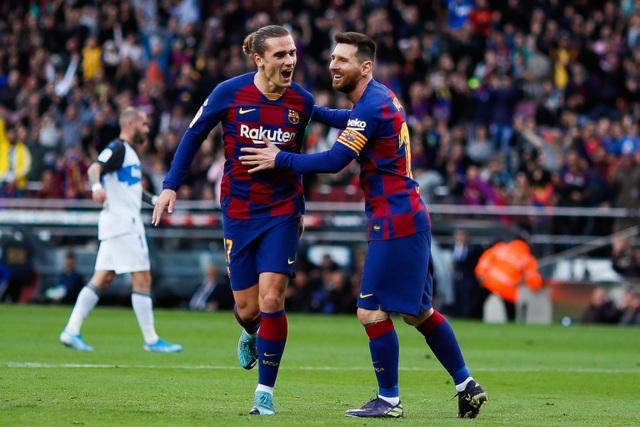 """Sau Rakitic, Barcelona sẵn sàng """"tống cổ"""" Griezmann - 1"""