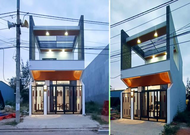 Nhà phố 2 tầng đẹp ấn tượng chỉ 750 triệu đồng ở Đà Nẵng - 1