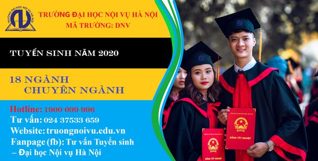 Trường Đại học Nội vụ Hà Nội tuyển sinh 2.200 chỉ tiêu năm 2020 - 1