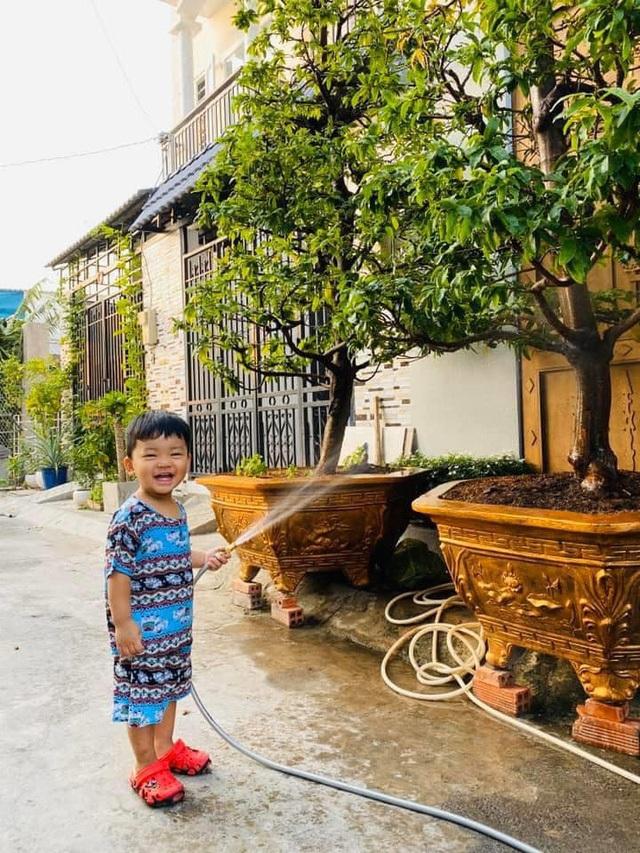 Vườn rau, trái cây xanh mướt mát của gia đình Hải Băng - Thành Đạt - 4