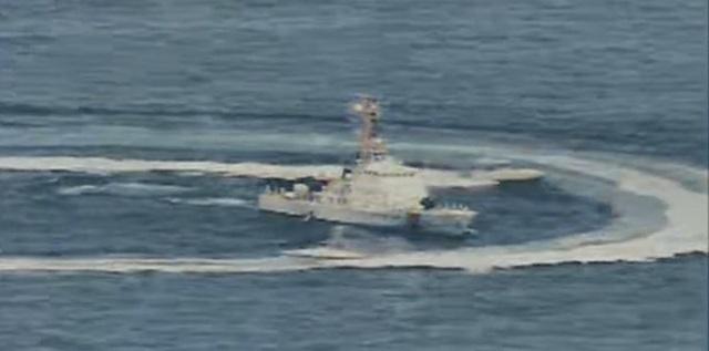 """Cận cảnh tàu Iran """"vây"""" dàn tàu chiến Mỹ tại vịnh Ba Tư - 9"""