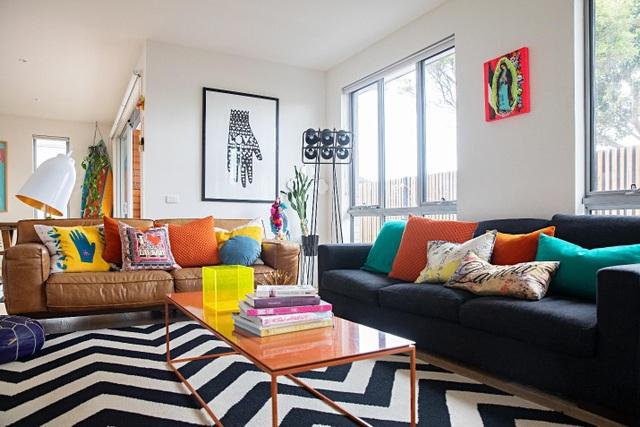 Ngôi nhà đầy màu sắc khiến vạn người mê của nữ họa sỹ người Úc - 3