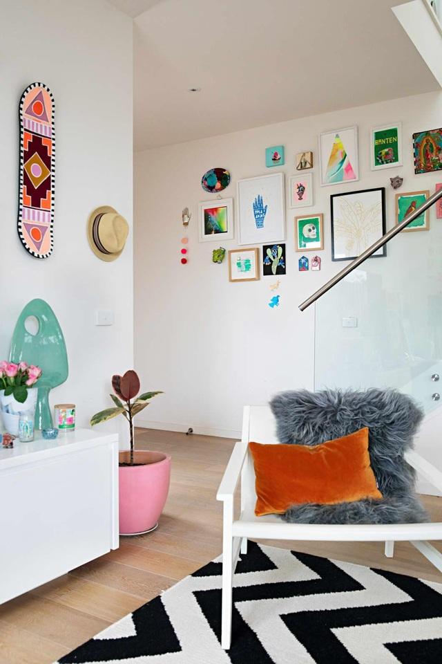 Ngôi nhà đầy màu sắc khiến vạn người mê của nữ họa sỹ người Úc - 7