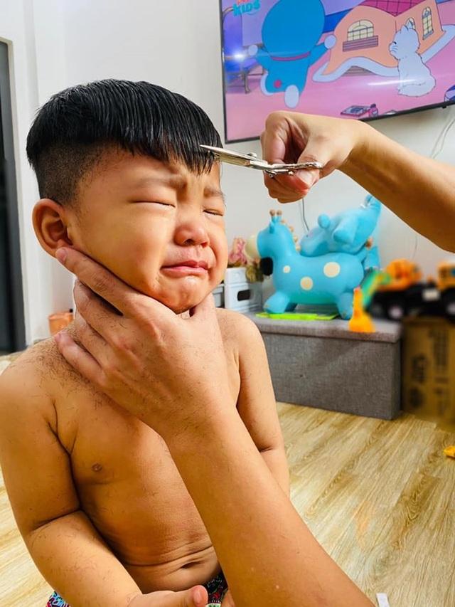 Sao Việt trổ tài... cắt tóc trong mùa dịch Covid-19 - 9