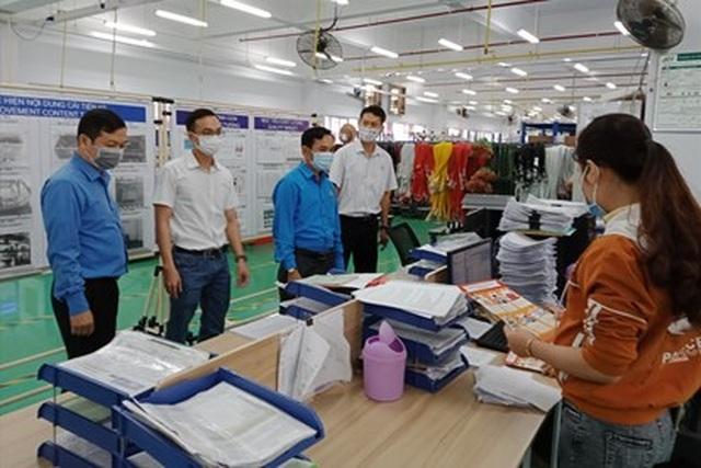 Quảng Ngãi: 600 doanh nghiệp rà soát lao động bị ảnh hưởng Covid-19 - 1