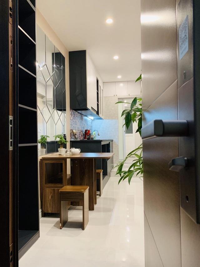 Hô biến căn hộ 23m2 ở Hà Nội thành homestay sang trọng chỉ 60 triệu đồng - 1