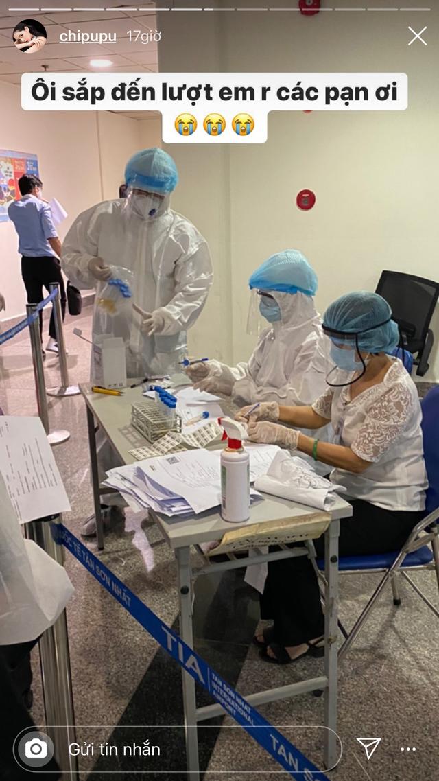 Chi Pu rời Hà Nội về TP.HCM được test Covid-19 tầm soát tại sân bay - 2