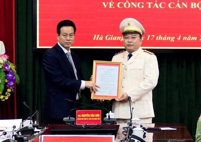 Hà Giang có tân Giám đốc công an tỉnh - 1