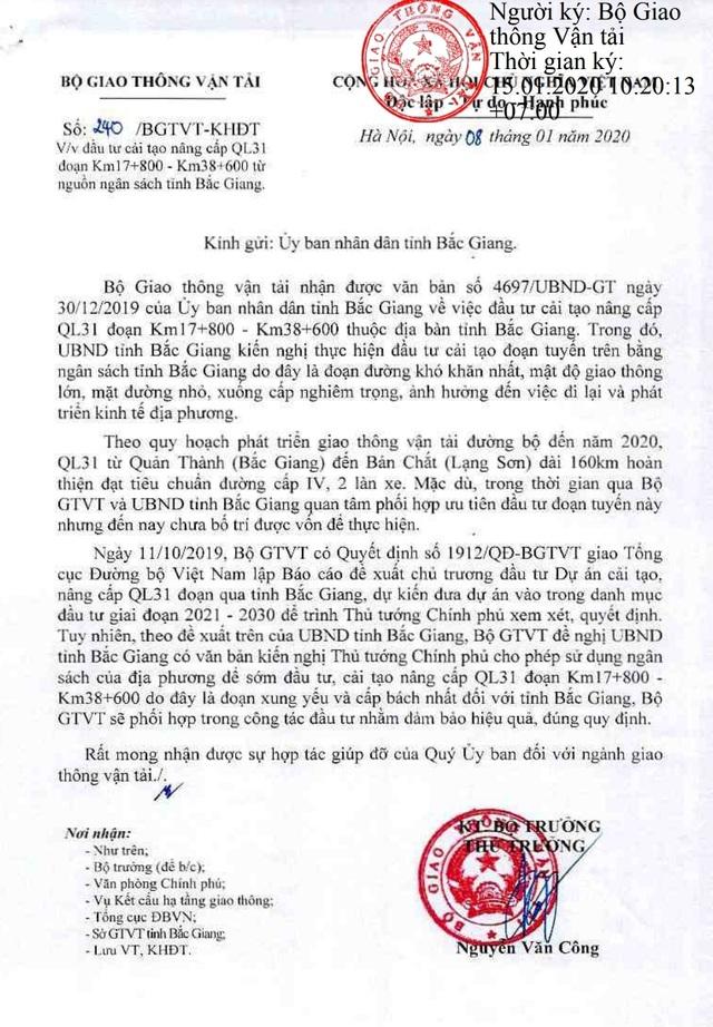 Quốc lộ xuống cấp cướp nhiều mạng người, tỉnh Bắc Giang như ngồi trên lửa - 4