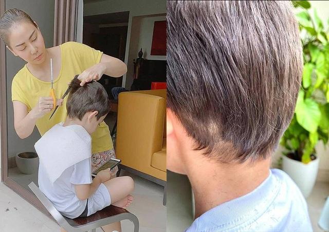 Sao Việt trổ tài... cắt tóc trong mùa dịch Covid-19 - 2