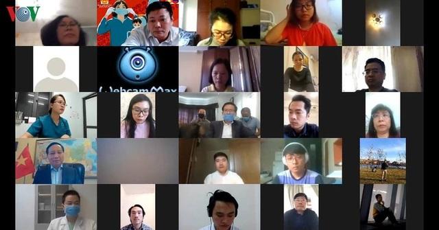 Tư vấn trực tuyến về dịch Covid-19 cho cộng đồng người Việt tại Nga - 2