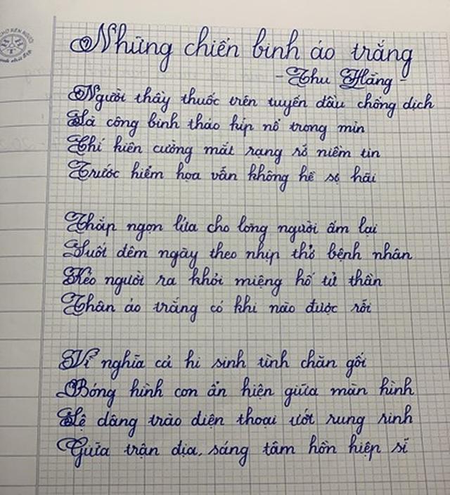 Học sinh Hà Tĩnh chế bài hát cổ động chống dịch Covid-19 - 4