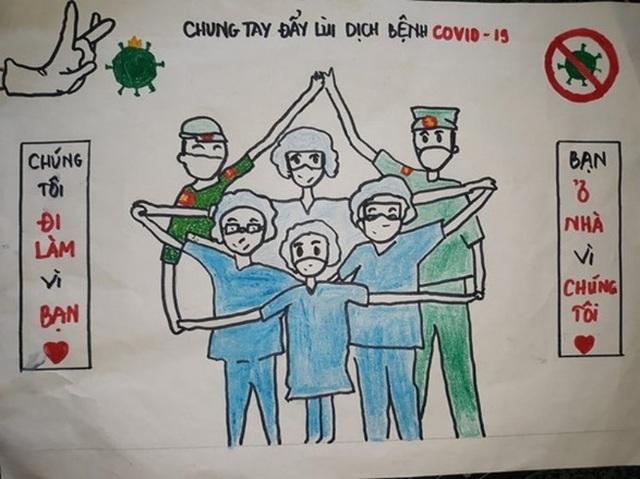 Học sinh Hà Tĩnh chế bài hát cổ động chống dịch Covid-19 - 6