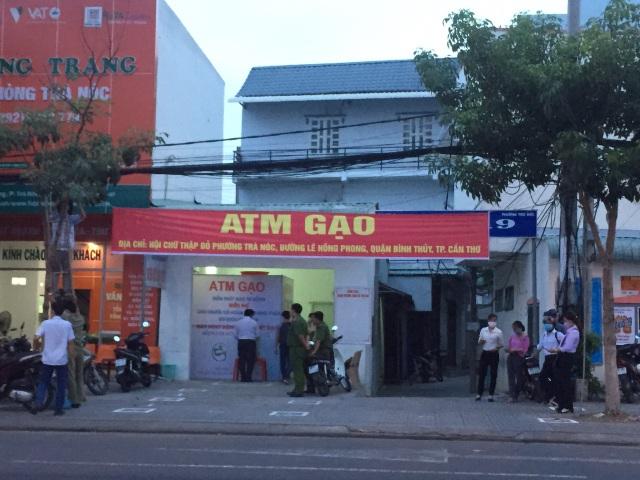 """Đặt """"ATM gạo"""" miễn phí cạnh khu công nghiệp để hỗ trợ công nhân - 1"""