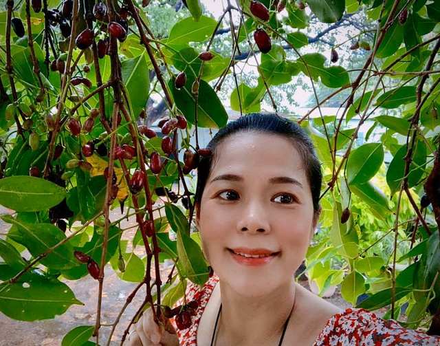 Ngất ngây với vườn cây trái trĩu quả của ca sĩ Mỹ Lệ - 2