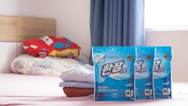 Giấy giặt Han Jang - thế hệ kế tiếp của sản phẩm giặt tẩy - 1