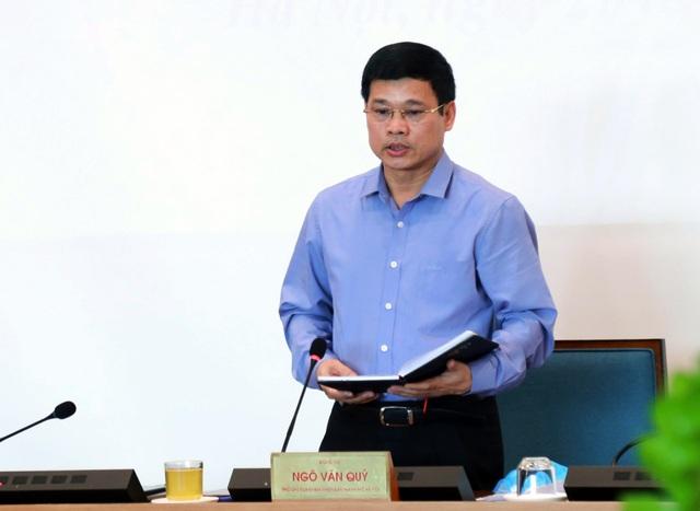 Ông Ngô Văn Quý - Phó Chủ tịch UBND TP Hà Nội