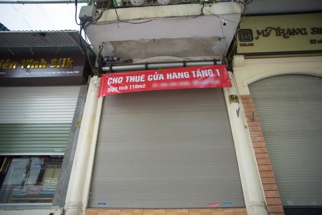 Loạt cửa hàng ở Hà Nội trả mặt bằng, chủ nhà méo mặt tìm khách thuê - 7