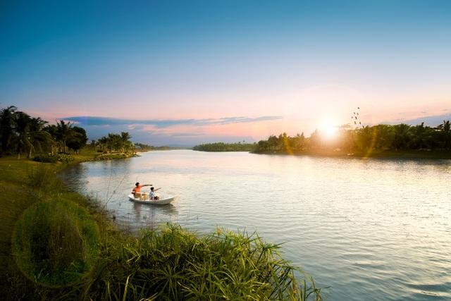 Khu đô thị tại Việt Nam có thiên nga, vịt trời đi lại tự nhiên trên đường như châu Âu - 1