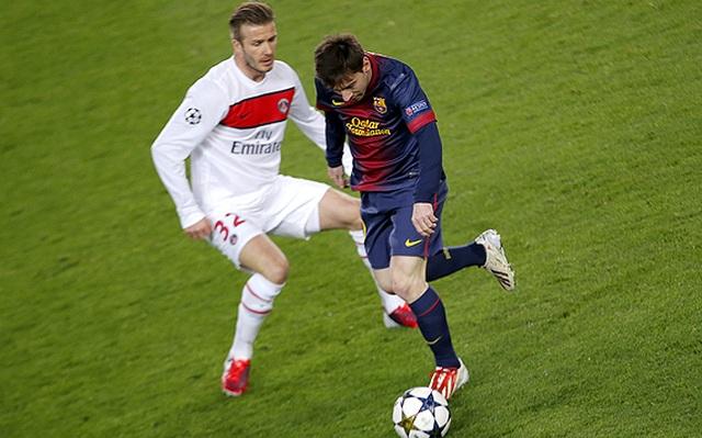 Bạn có biết: Beckham chia tay sự nghiệp sân cỏ vì…Messi