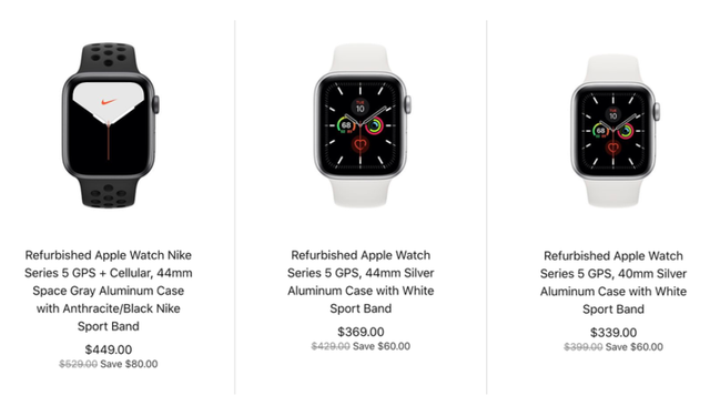 Apple Watch series 5 tân trang xuất hiện với giá rẻ hơn 100 USD - 2