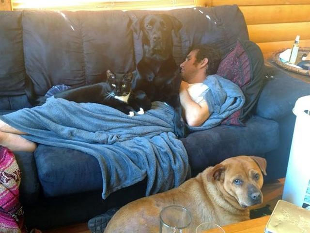 Cảm động tình yêu vô điều kiện của cún cưng dành cho chủ - 7