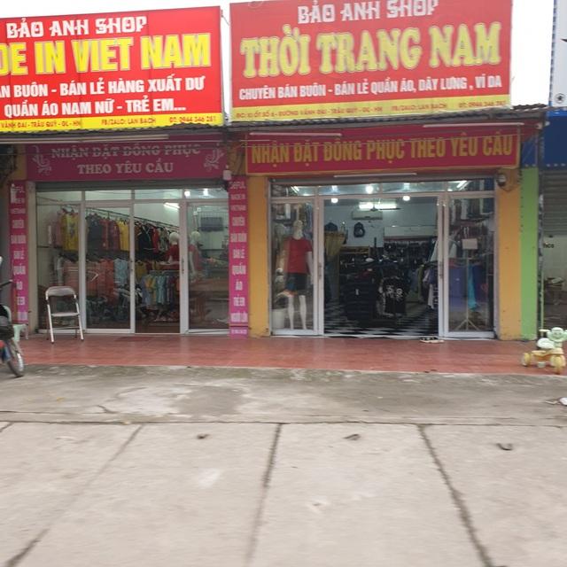 Chưa chính thức nới lỏng, nhiều cửa hàng đã mở toang cửa kinh doanh - 10