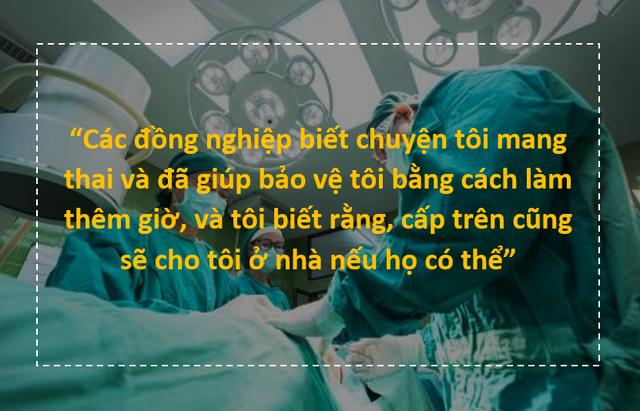 Chia sẻ nghẹn ngào của bác sĩ chống dịch trên tuyến đầu đang mang thai - 2