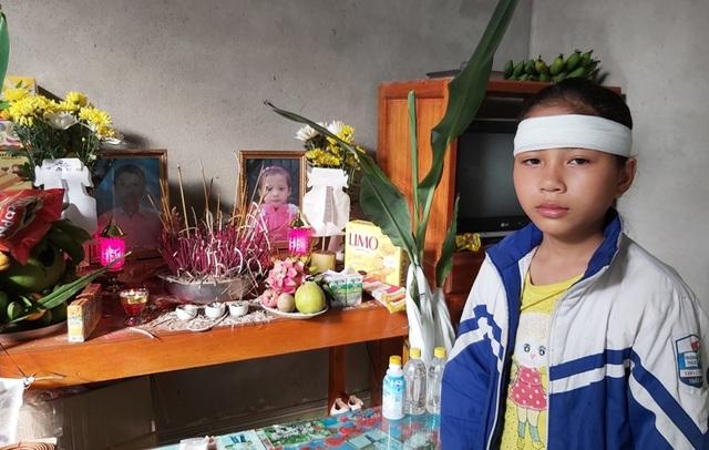 Đau nhói lòng cảnh bé gái 12 tuổi liền lúc mất đi cả mẹ và em - 1