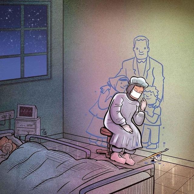 Dân mạng chia sẻ những hình ảnh ý nghĩa cổ vũ y, bác sĩ chống dịch Covid-19 - 11