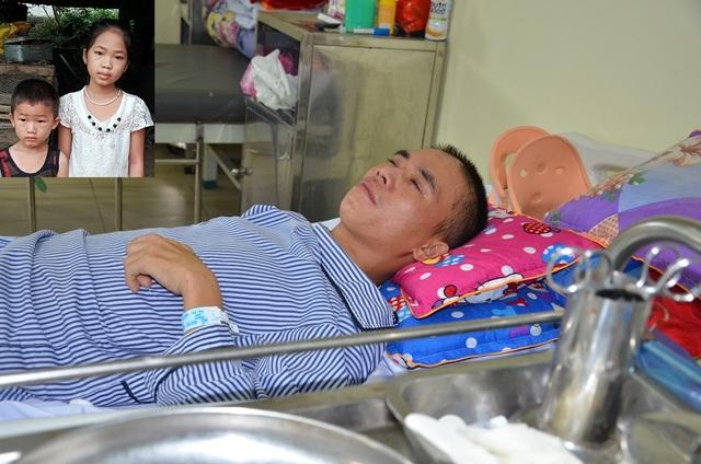 Xót xa cảnh người vợ ngậm ngùi xin cơm từ thiện chăm chồng trong viện - 4