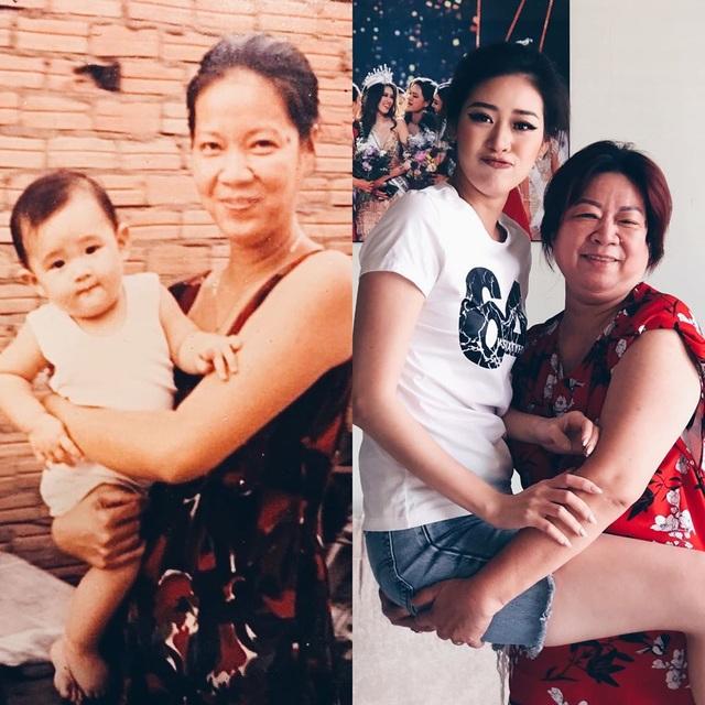 """Hoa hậu Khánh Vân """"tái hiện"""" ảnh chụp lúc 1 tuổi cùng ba mẹ - 7"""