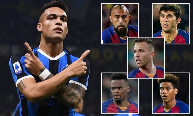 Barcelona muốn dùng 4 cầu thủ để đổi lấy Lautaro Martinez - 1