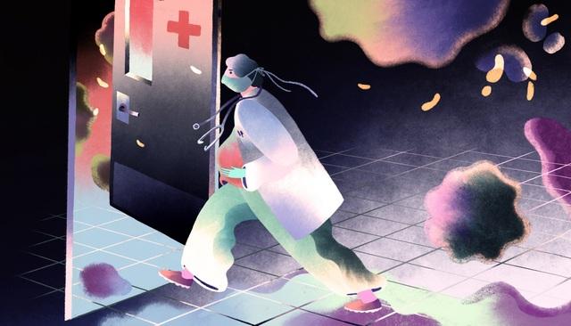 Chia sẻ nghẹn ngào của bác sĩ chống dịch trên tuyến đầu đang mang thai - 1