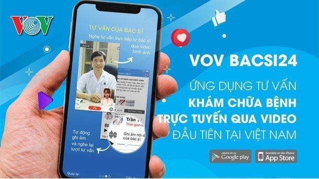 Bệnh viện Quân đội 108 khám bệnh trực tuyến miễn phí trên ứng dụng VOV BACSI24 - 1