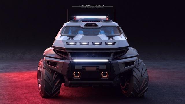 """Armortruck - Chiếc xe cho """"Ngày tận thế"""" - 1"""