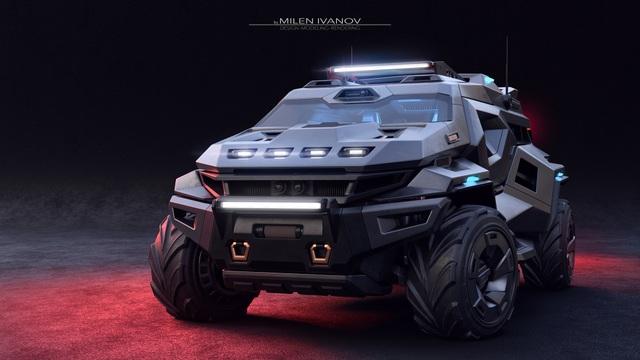 """Armortruck - Chiếc xe cho """"Ngày tận thế"""" - 2"""