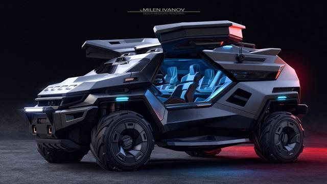 """Armortruck - Chiếc xe cho """"Ngày tận thế"""" - 7"""