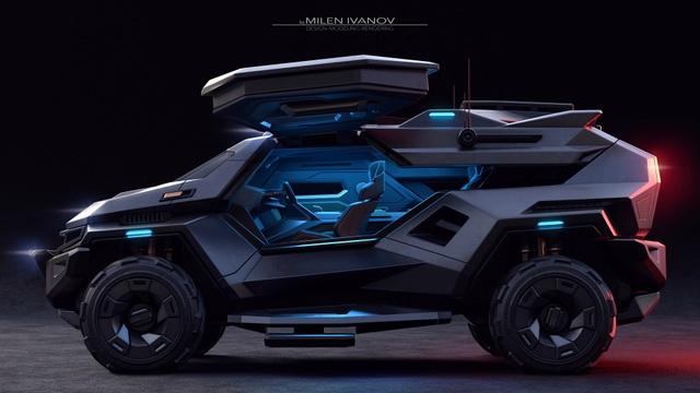 """Armortruck - Chiếc xe cho """"Ngày tận thế"""" - 6"""