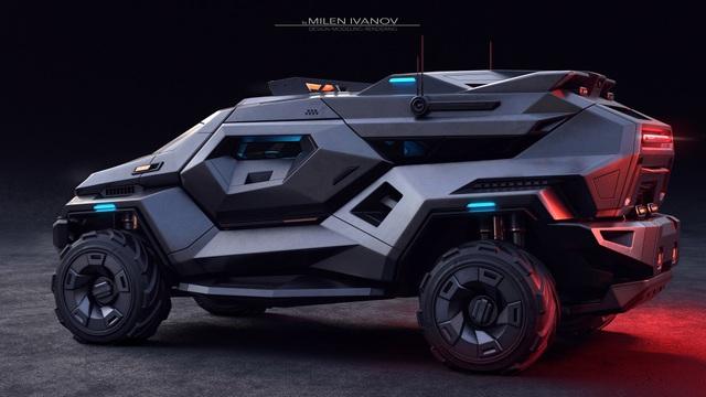 """Armortruck - Chiếc xe cho """"Ngày tận thế"""" - 3"""