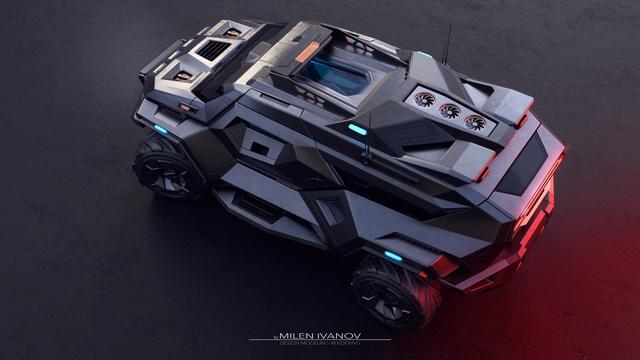 """Armortruck - Chiếc xe cho """"Ngày tận thế"""" - 5"""